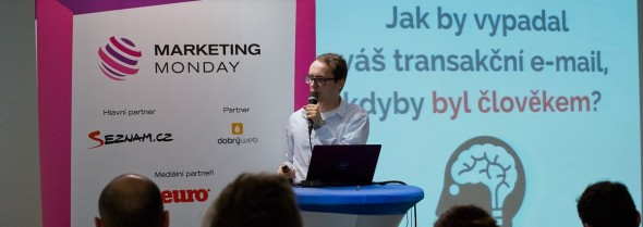 Jan Ambrož na Marketing monday